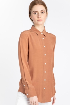 Naif Montreal Carvello Terracotta Blouse - Product List Image