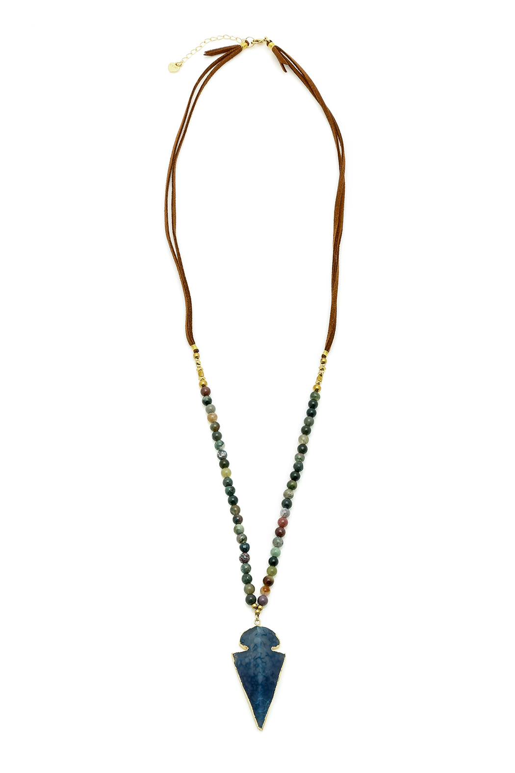 Nakamol Agate Beads Necklace - Main Image