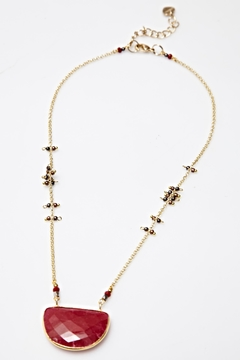 Shoptiques Product: Half Moon Necklace