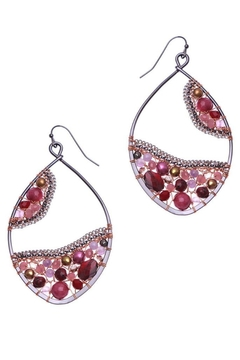 Shoptiques Product: Maxwell Teardrop Earrings