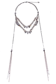Nakamol Rose Pearls Lariat - Front cropped