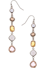 NAKAMOL CHICAGO 5 Crystal Drop Earrings - Front cropped