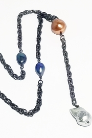 NAKAMOL CHICAGO Baroque Pearl Y Necklace - Product Mini Image