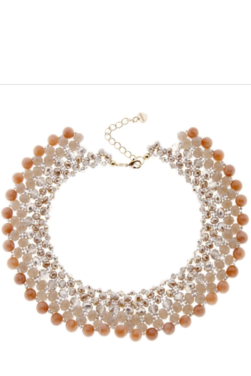 NAKAMOL CHICAGO Beaded Bliss Collar Necklace - Main Image