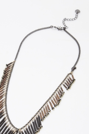 NAKAMOL CHICAGO Fringe Lariat Necklace - Side cropped