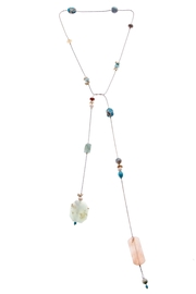 NAKAMOL CHICAGO Gemstone Strung Lariat - Product Mini Image