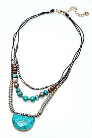 NAKAMOL CHICAGO Margaux Turquoise Necklace - Front cropped