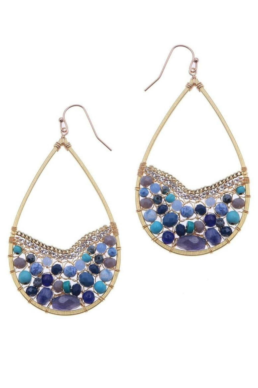 NAKAMOL CHICAGO Ocean Blues Earrings - Main Image
