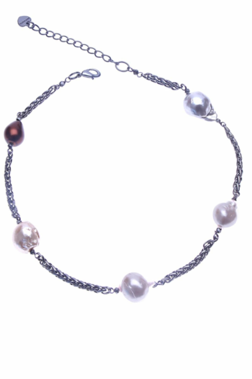 NAKAMOL CHICAGO Ophelia Pearl Necklace - Main Image
