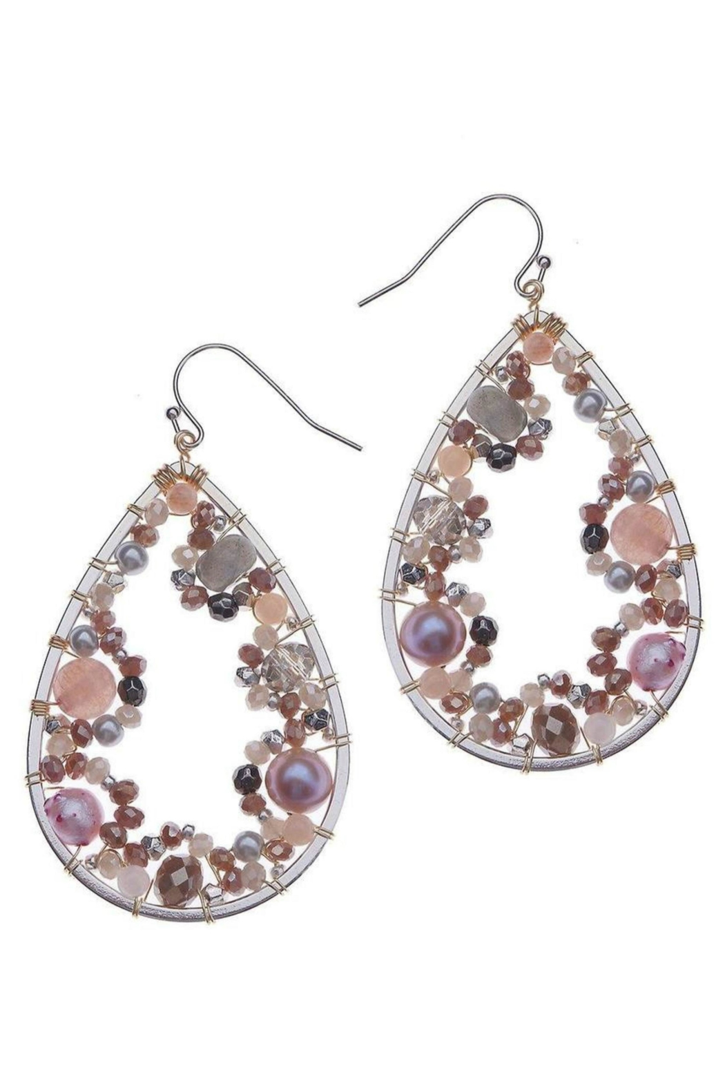 NAKAMOL CHICAGO Passion Wrap Earrings - Main Image