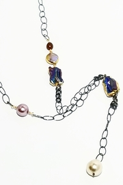 NAKAMOL CHICAGO Pearl/chain Y Necklace - Product Mini Image