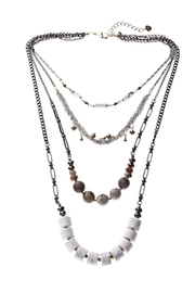 NAKAMOL CHICAGO Semiprecious Stranded Necklace - Product Mini Image