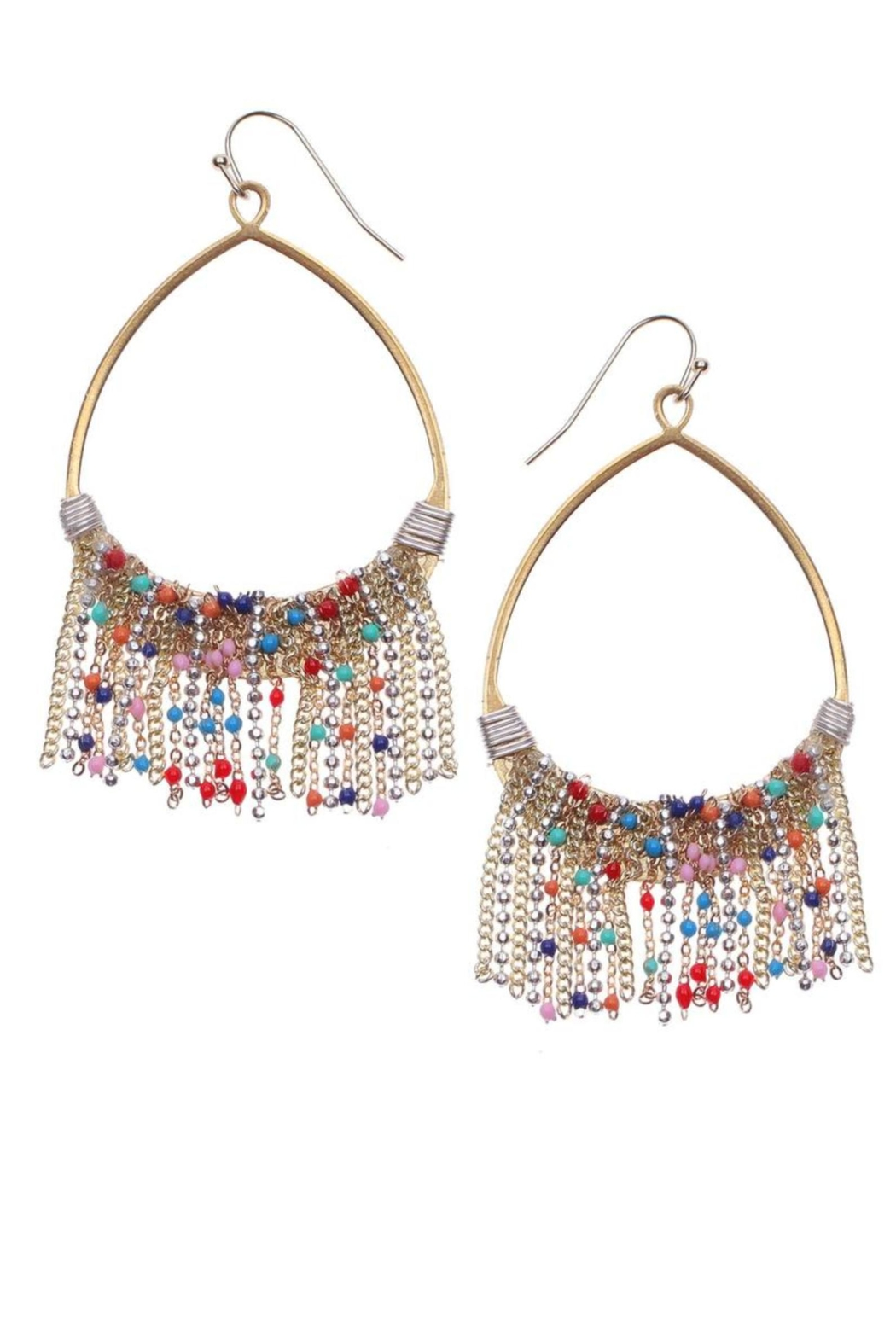 NAKAMOL CHICAGO Sparkledust Drizzle Earrings - Main Image