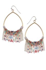 NAKAMOL CHICAGO Sparkledust Drizzle Earrings - Front cropped