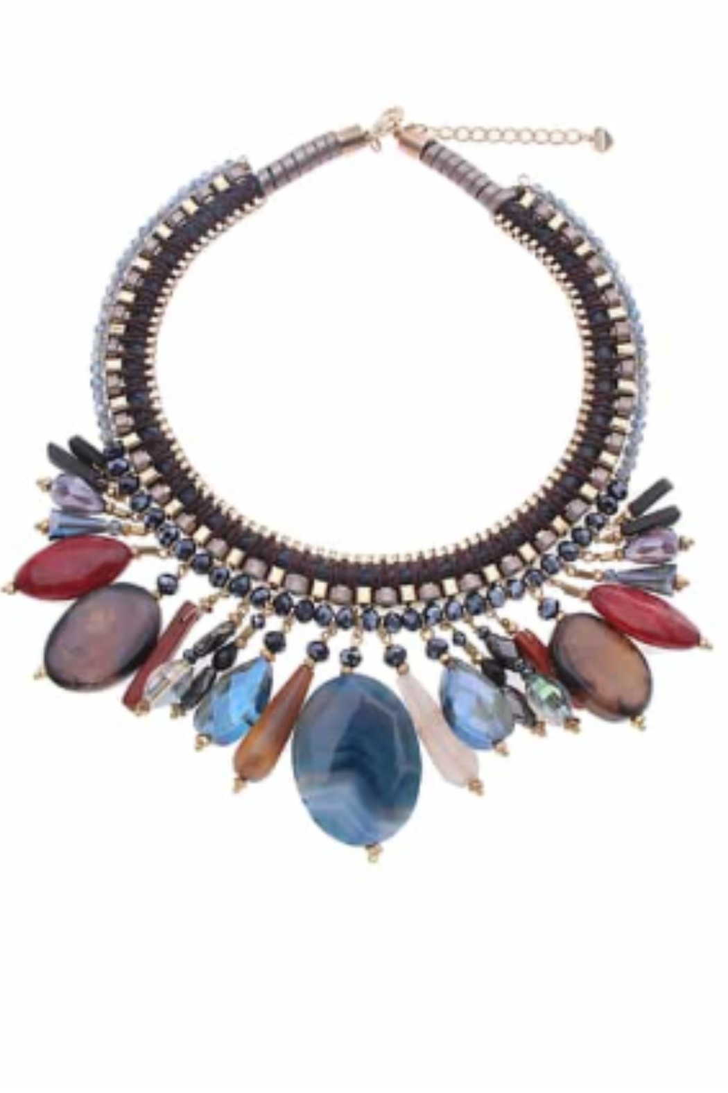NAKAMOL CHICAGO Stoned Collar Necklace - Main Image