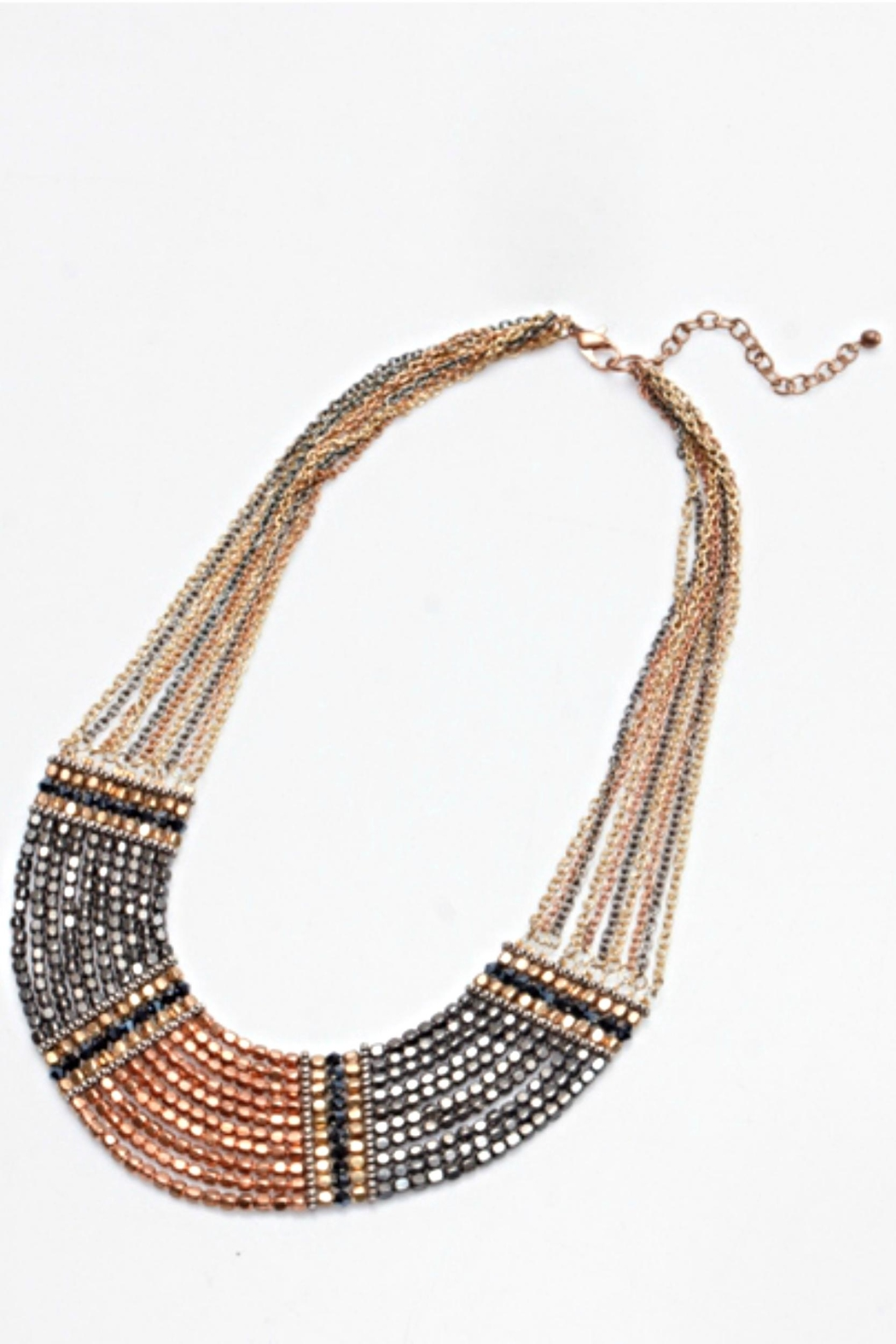NAKAMOL CHICAGO Stranded Collar Necklace - Main Image