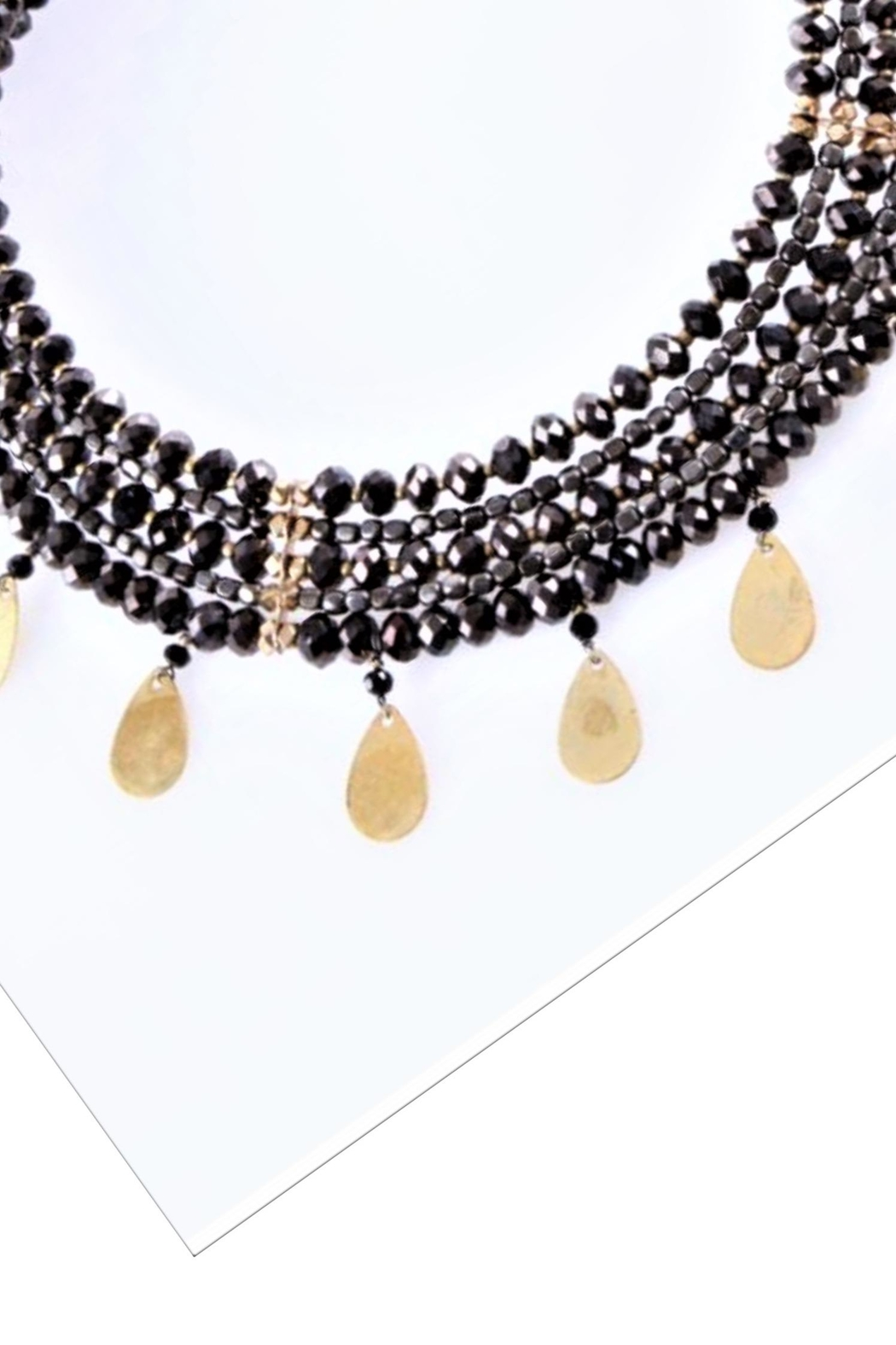 NAKAMOL CHICAGO Strands Drop Necklace - Front Full Image