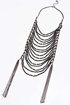NAKAMOL CHICAGO Tiered Tassle Necklace - Product List Image