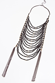 NAKAMOL CHICAGO Tiered Tassle Necklace - Product Mini Image