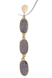 NAKAMOL CHICAGO Urdula Druzy Earrings - Product Mini Image