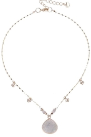 NAKAMOL CHICAGO Wrapped Labradorite Necklace - Front cropped