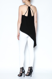 Naked Zebra Asymmetric Black Tank - Other