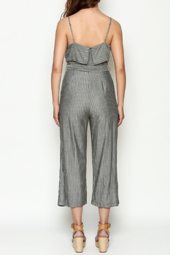 Naked Zebra Culotte Striped Jumpsuit - Alternate List Image