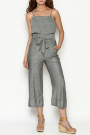 Naked Zebra Culotte Striped Jumpsuit - Product Mini Image