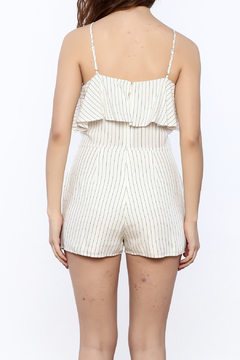 Naked Zebra Halter Stripe Romper - Alternate List Image