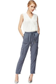 Naked Zebra Cargo Comfy Pants - Front cropped