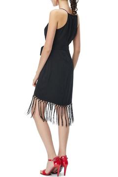 Shoptiques Product: Fringe Hem Wrap Dress