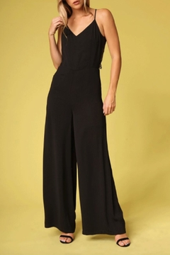 Shoptiques Product: Lace Back Jumpsuit
