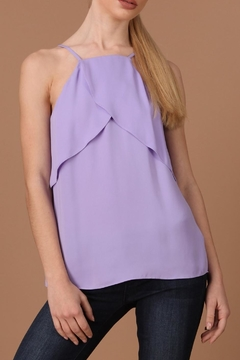 Shoptiques Product: Overlap Frill Top