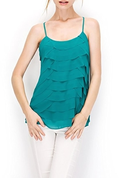 Shoptiques Product: Scalloped Tiered Raceback
