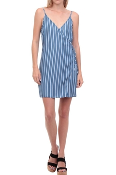 Shoptiques Product: Stripe Wrap Dress