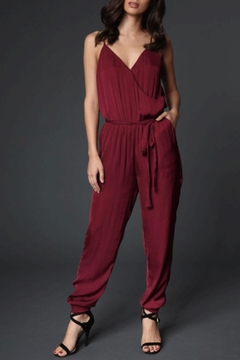 Shoptiques Product: Surplice Jogger Jumpsuit