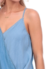 Naked Zebra Surplice Tencel Tank Top - Other