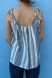 Naked Zebra Tassel Trim Cami - Front full body