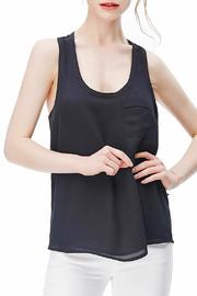 Naked Zebra Woven Tank Top - Front cropped