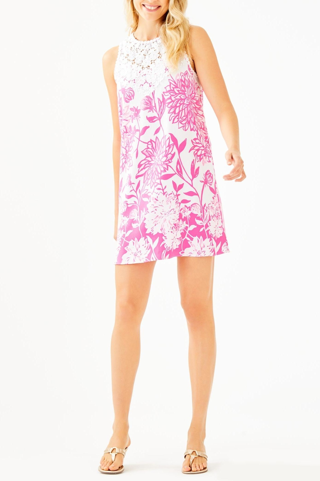 Lilly Pulitzer Nala Soft-Shift Dress - Back Cropped Image