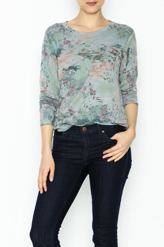 Shoptiques Product: Monet Print Jersey Top