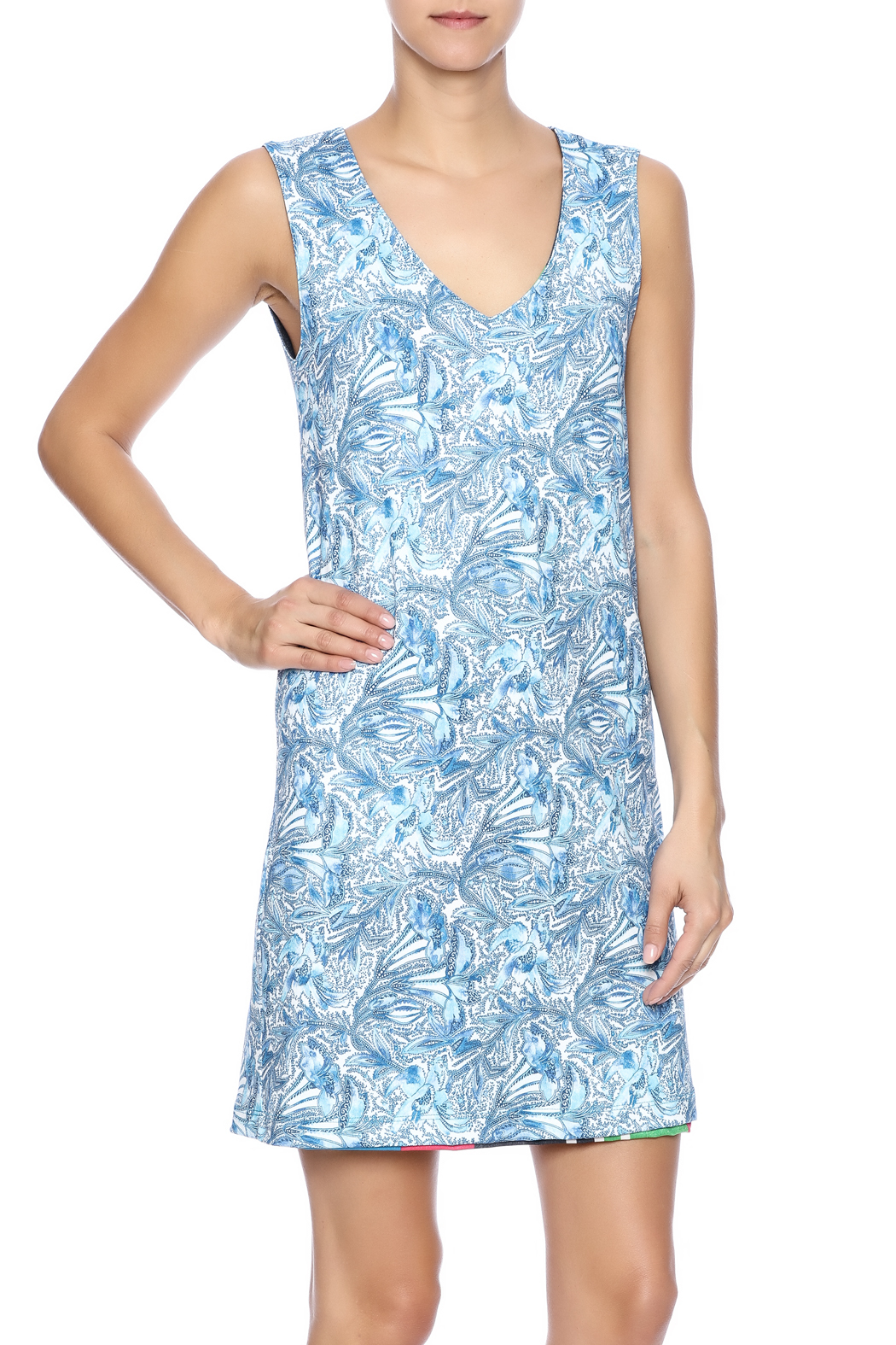 Nally & Millie Reversible Dress - Side Cropped Image