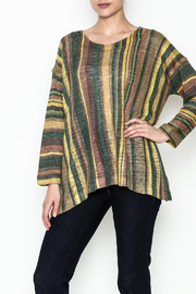 Nally & Millie Stripe Top - Front cropped