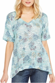 Nally & Millie Floral Print Top - Front cropped