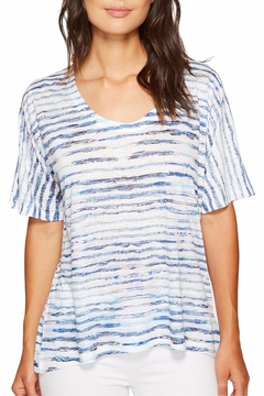 Shoptiques Product: Stripe Burnout Top