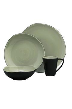 Shoptiques Product: Tri Corner Dinnerware Set