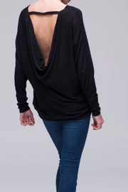 Nanavatee Draped Back Pullover - Front full body