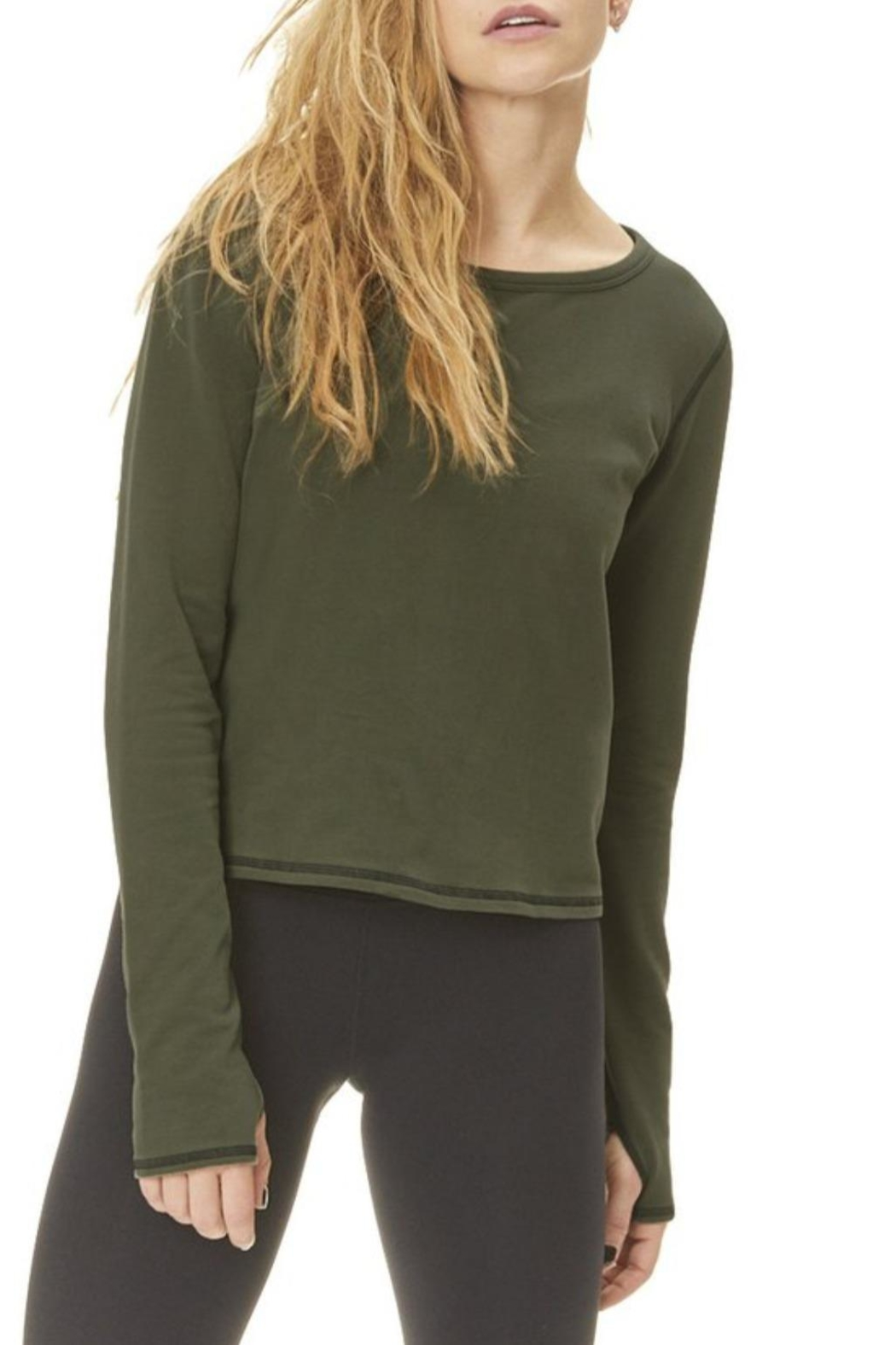 Nancy Rose Anthem Sweatshirt - Side Cropped Image