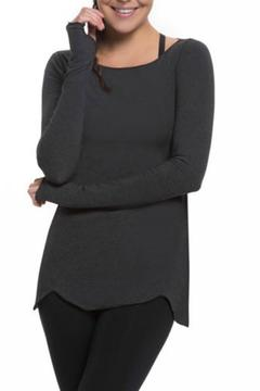 Shoptiques Product: Scallop Long Sleeve