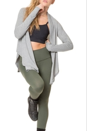 Nancy Rose Warm Up Wrap - Front full body